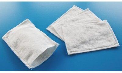 Einmal-Waschhandschuhe, Vliesstoff, Weiß, 1000 Stück
