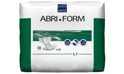 Abri Form Comfort L1, Abena Windeln, SV 2.500 ml, 26 Stück
