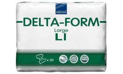 Delta-Form L1, atmungsaktive Windeln, 20 Stück