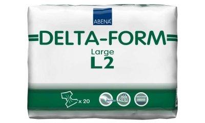 Delta-Form L2, atmungsaktive Windeln, 20 Stück