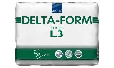 Delta-Form L3, atmungsaktive Windeln, 15 Stück