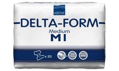 Delta-Form M1, atmungsaktive Windeln, 20 Stück