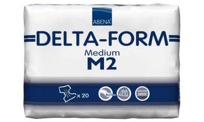 Delta-Form M2, atmungsaktive Windeln, 20 Stück