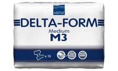 Delta-Form M3, atmungsaktive Windeln, 15 Stück