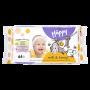 Bella Happy Baby Feuchttücher Milch und Honig, 64 Stück-1