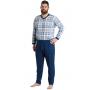 Pflege-Schlafanzug suprima 4718, Rücken- u. Bein-RV-1