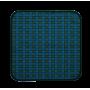 Sitzauflage suprima 3700, blau-grün, 45 x 45 cm-2