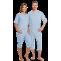 Pflegeoverall suprima 4080, Beinreißverschluss, CareBasic-3