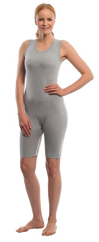 6a515dde42 Pflegebody suprima 4698, ohne Arm, teilbarer Bein-RV, Grau M (Taille 70 bis  100 cm)