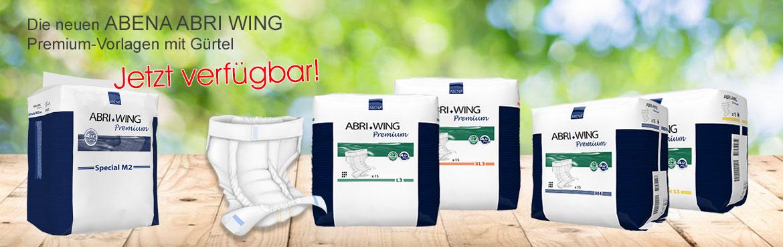 2 - Neu Abena Abri Wing Inkontinenz