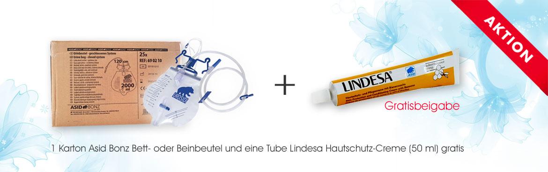 3 - Lindesa Hautschutz-Creme gratis
