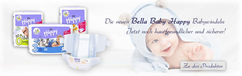3 - Bella Happy Babywindeln
