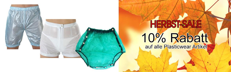 1 - 10% auf Plasticwear Gummihosen