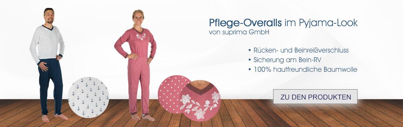 3-Suprima Pflegeschlafanzug